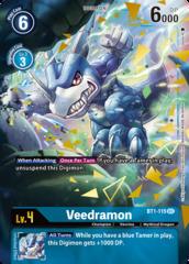Veedramon - BT1-115 - SEC - Alternative Art