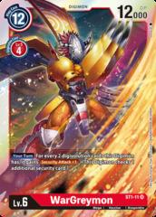 WarGreymon - ST1-11 - SR