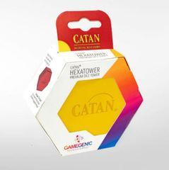 CATAN Hexatower - Premium Dice Tower - Yellow