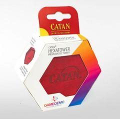 CATAN Hexatower - Premium Dice Tower - Red