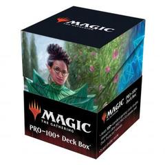 Ultra Pro - Strixhaven 100+ Deck Box for Magic: The Gathering - Kianne, Dean of Substance & Imbraham, Dean of Theory