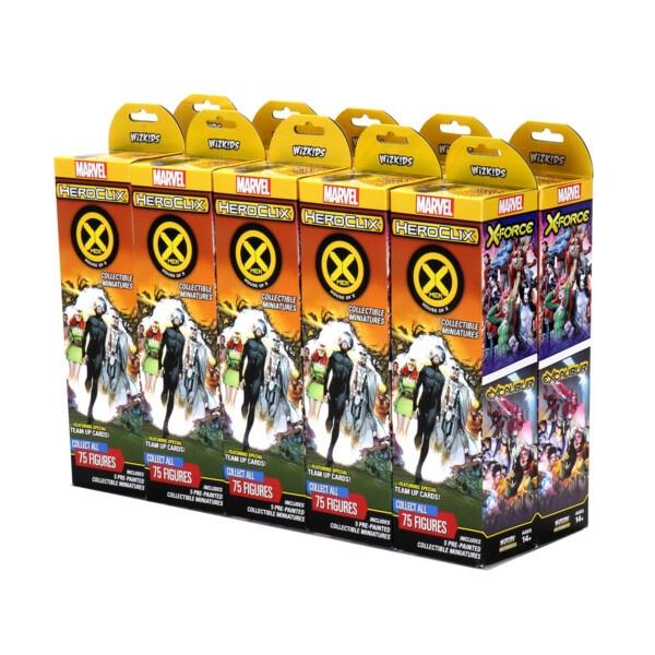 HeroClix: X-Men House of X Booster Brick (10 Packs)