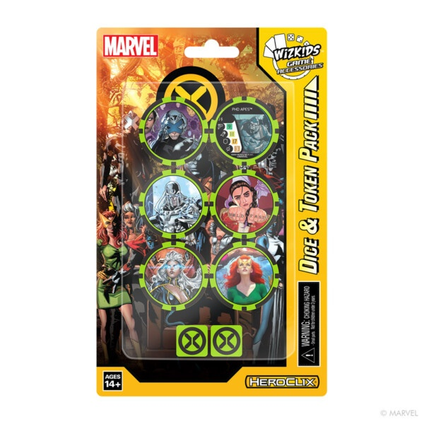 HeroClix: X-Men House of X Dice and Token Pack
