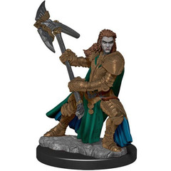 D&D Premium Painted Figure: W4 Female Half-Orc Fighter