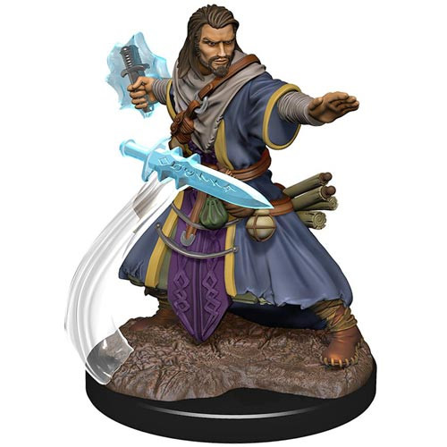 D&D Premium Painted Figure: W5 Male Human Wizard