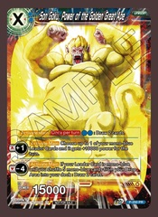 Son Goku, Power of the Golden Great Ape - P-250 - PR - Revision Pack 2020