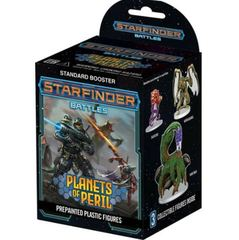 Starfinder Battles Miniatures: Planets Of Peril Booster Pack