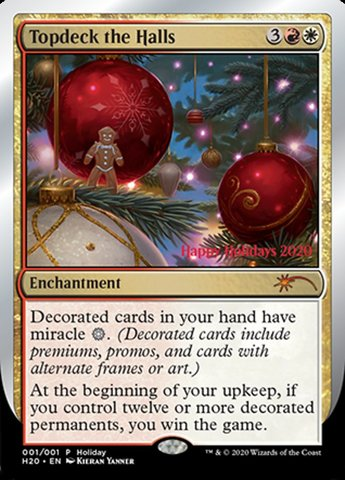 Topdeck the Halls - Holiday Promo