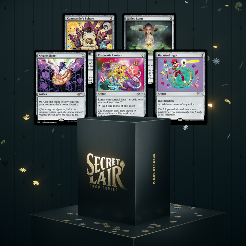Secret Lair - A Box of Rocks