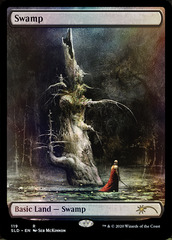 Swamp (119) - Foil - Artist Series: Seb McKinnon