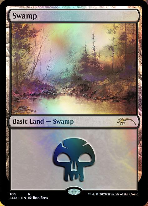 Swamp (105) - Foil - Happy Little Gathering