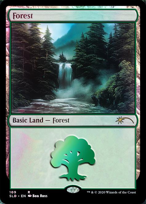 Forest (109) - Foil - Happy Little Gathering