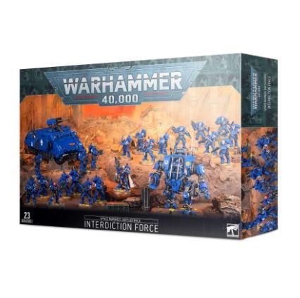 Warhammer 40k Space Marines Battleforce Interdiction Force