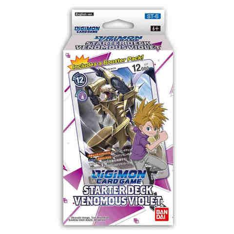 Digimon Card Game: Starter Deck - Venomous Violet