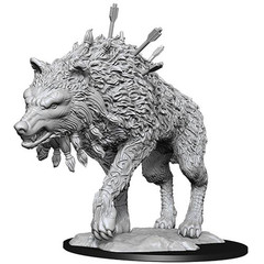 Magic: The Gathering Unpainted Miniatures: Cosmo Wolf