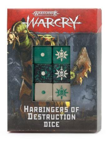 Warcry: Harbingers of Destruction Dice Set
