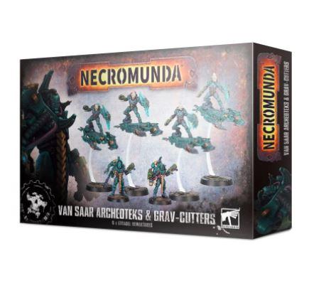 Necro: Van Saar Archeoteks & Sky-Cutters