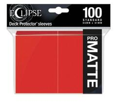 Ultra Pro - Eclipse Pro Matte Standard Sleeves: Apple Red 100ct