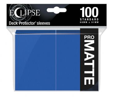 Ultra Pro - Eclipse Pro Matte Standard Sleeves: Pacific Blue 100ct
