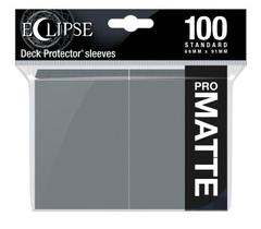 Ultra Pro - Eclipse Pro Matte Standard Sleeves: Smoke Grey 100ct