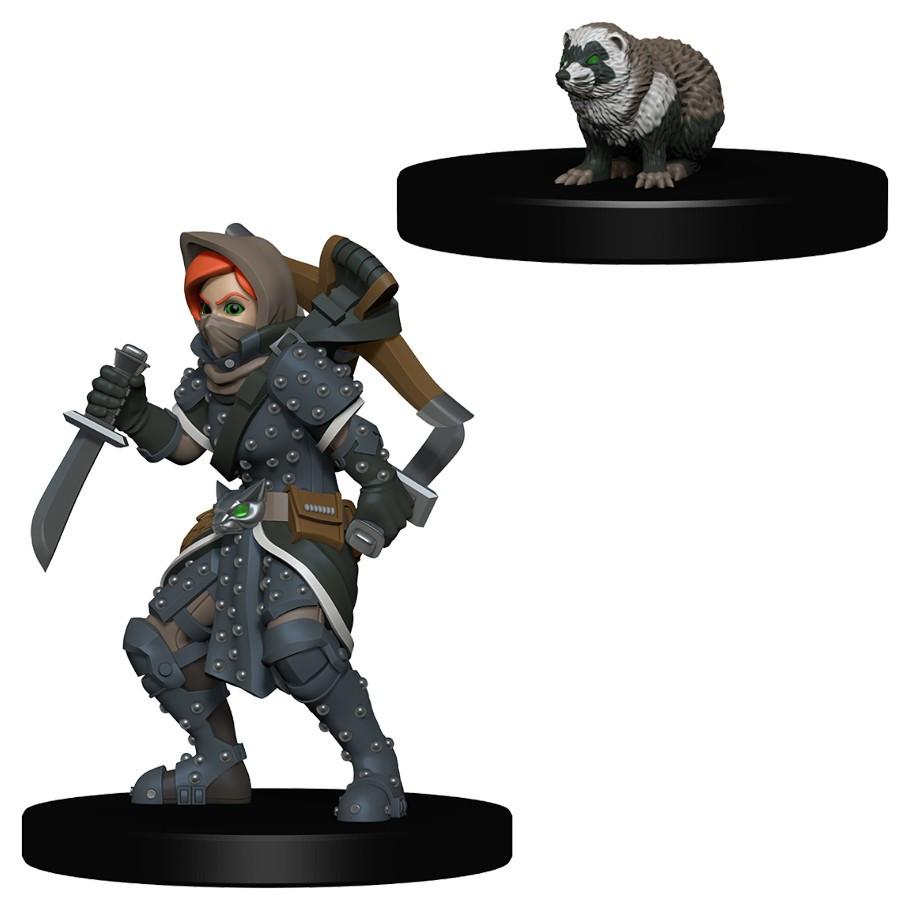 Wardlings: Girl Rogue & Badger