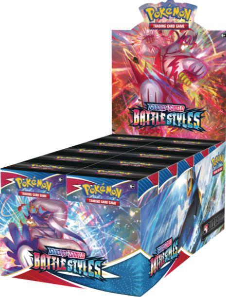 Sword & Shield - Battle Styles Build & Battle Box Display