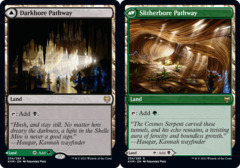Darkbore Pathway // Slitherbore Pathway - Foil