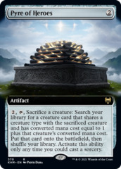 (370) Pyre of Heroes - FOIL - EXTENDED ART