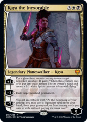 Kaya the Inexorable - Foil