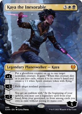 Kaya the Inexorable - Borderless