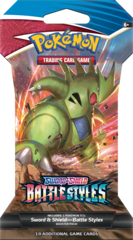 Battle Styles Sleeved Booster Pack