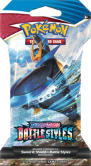 Sword & Shield - Battle Styles Sleeved Booster Pack - Rapid Strike - Empoleon V