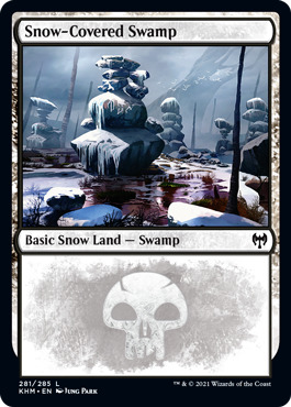 Snow-Covered Swamp (281)
