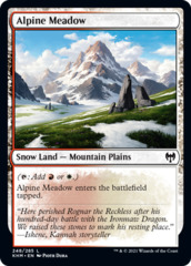 Alpine Meadow - Foil