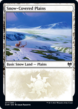 Snow-Covered Plains (277) - Foil