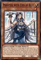 Priestess with Eyes of Blue - LDS2-EN007 - Common - 1st Edition