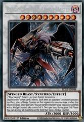 Blackwing Full Armor Master - LDS2-EN044 - Secret Rare - 1st Edition