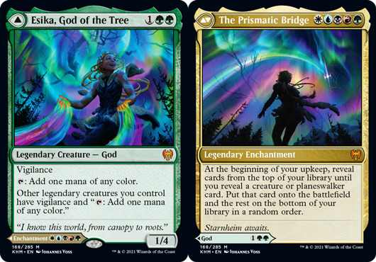 Esika, God of the Tree // The Prismatic Bridge