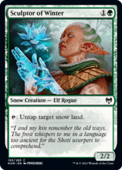 Sculptor of Winter - Foil