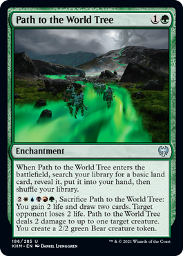 Path to the World Tree - Foil