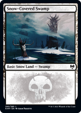 Snow-Covered Swamp (280)