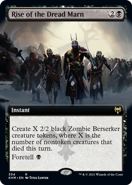 Rise of the Dread Marn - Extended Art