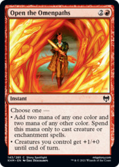 Open the Omenpaths - Foil