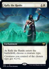 Rally the Ranks - Foil - Extended Art