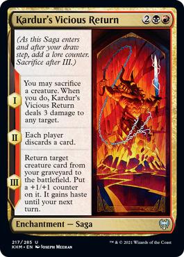Kardurs Vicious Return - Foil