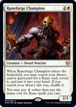 Runeforge Champion - Foil