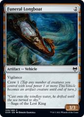 Funeral Longboat - Foil