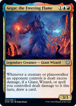 Aegar, the Freezing Flame - Foil