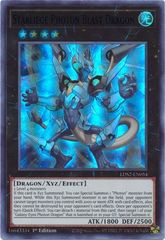 Starliege Photon Blast Dragon (Blue) - LDS2-EN054 - Ultra Rare - 1st Edition