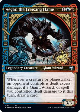 Aegar, the Freezing Flame - Showcase